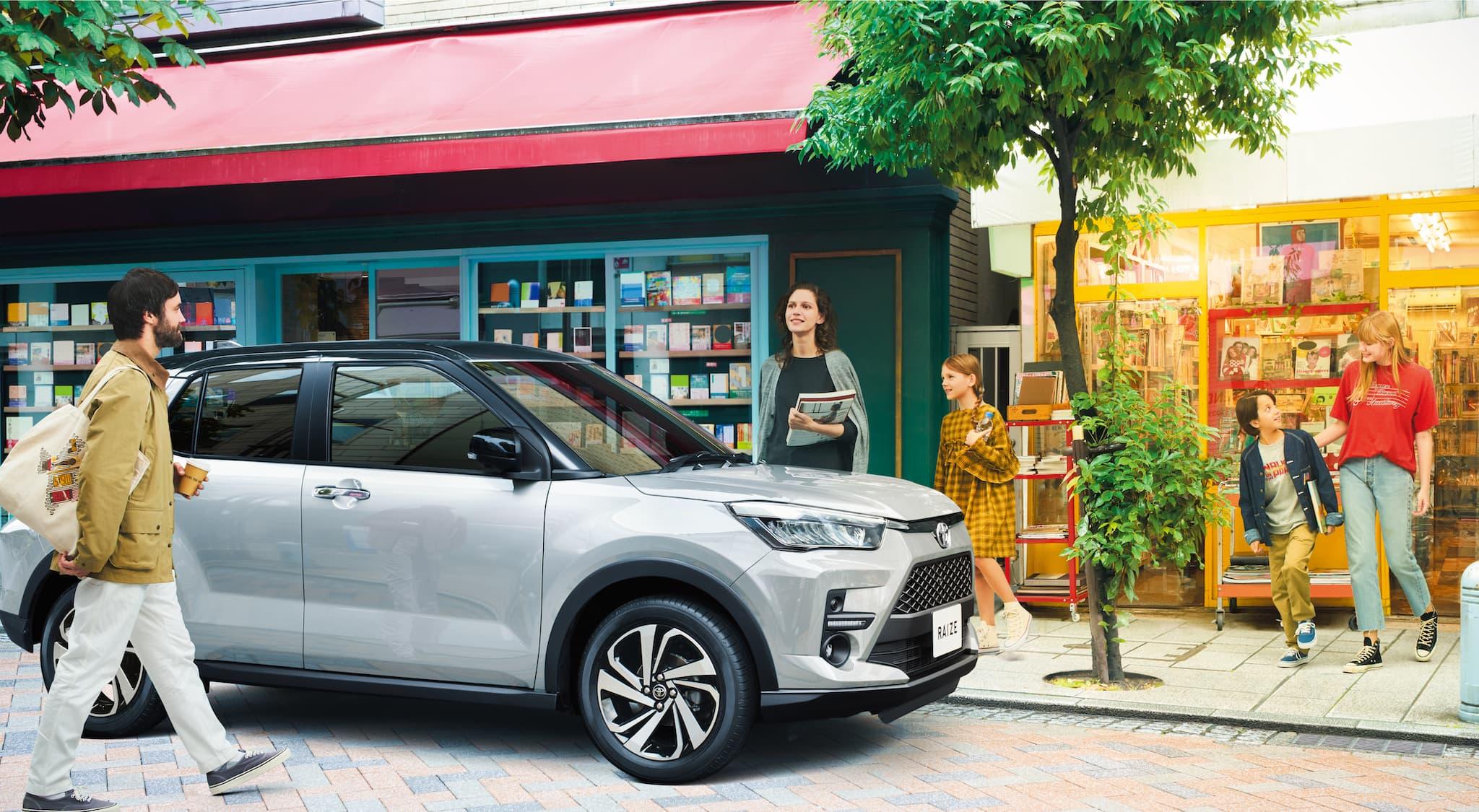販売好調のライズを徹底レビュー販売好調!若者に人気のトヨタ新型コンパクトSUV