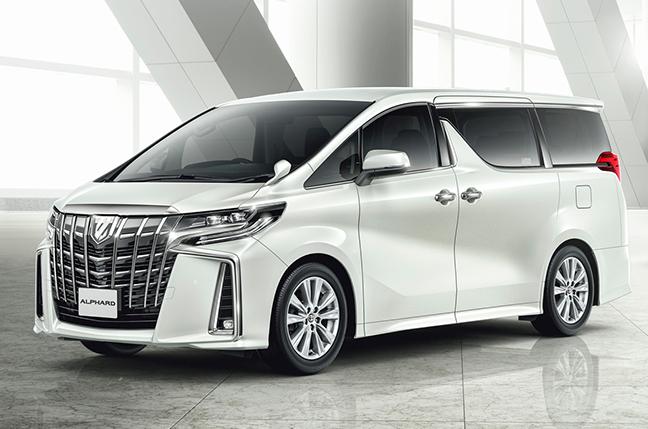 ※アルファード S(ガソリン車 2WD ホワイトパールクリスタルシャイン)<オプション装着車>