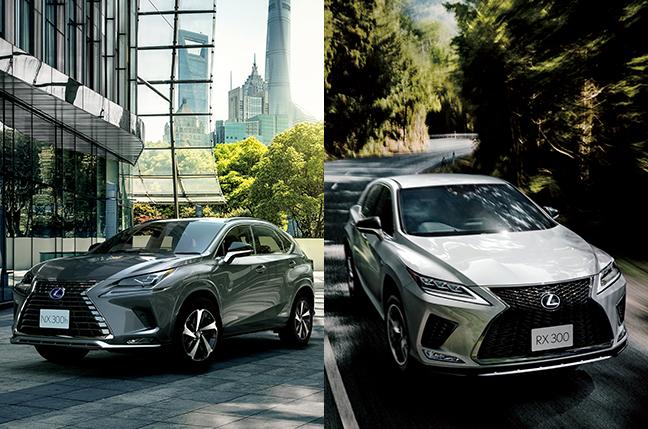 レクサス「NX」と「RX」人気のクロスオーバーSUVの2車種を比較!