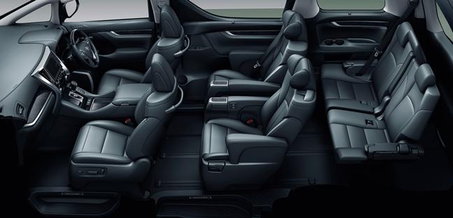 トヨタの高級ミニバン「アルファード」内装の魅力を紹介!