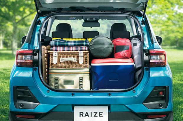 トヨタ RAIZE(ライズ)の内装や大容量の荷室をレビュー!
