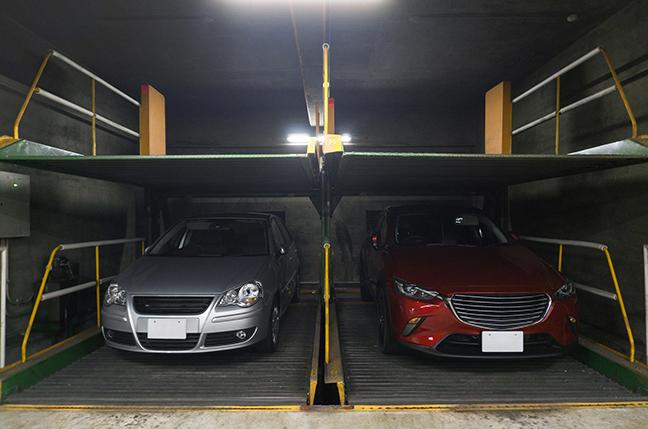 機械式駐車場イメージ