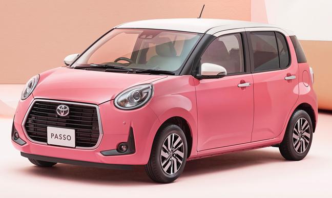 トヨタ「パッソ」特別仕様車の「MODA Charm」