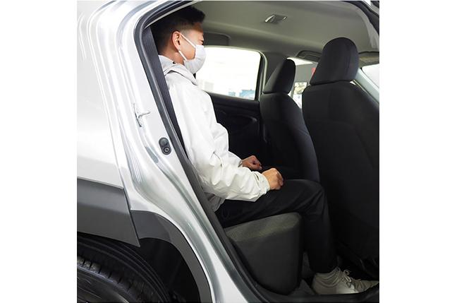 ヤリスクロスの乗車イメージ