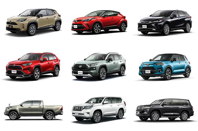 【2021年夏】トヨタSUV燃費ランキング!燃費のいいSUVはどれ?