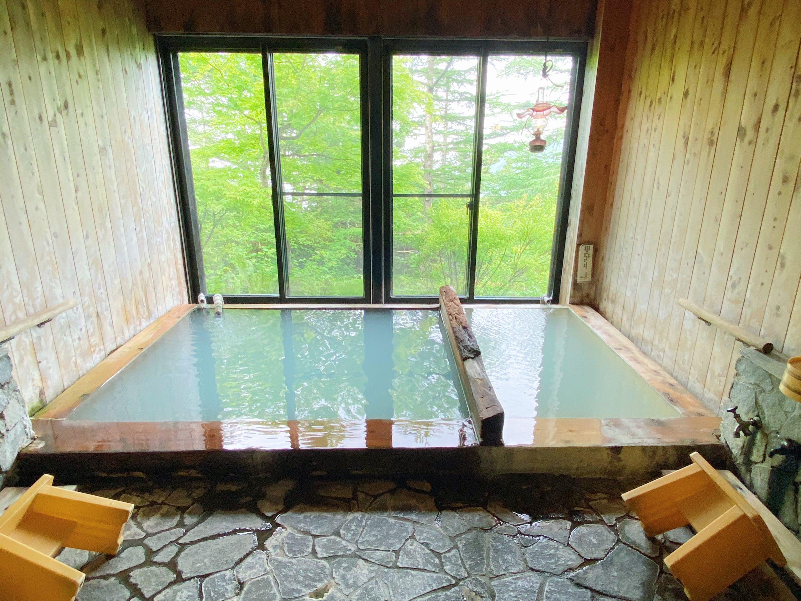 高峰温泉「ランプの湯」