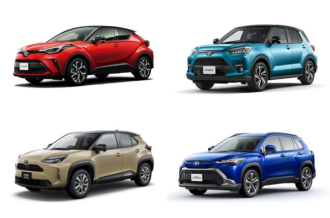 トヨタの人気おすすめコンパクトSUVを比較!何を買うべき?
