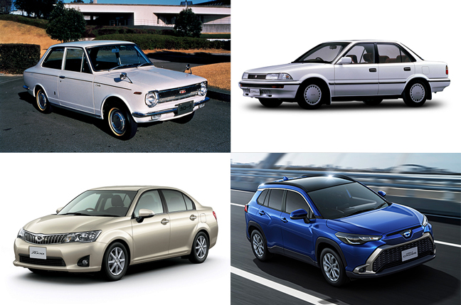 カローラの歴史や現行車種を紹介!新型SUVやサイズ比較も